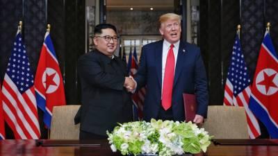 Встреча Трампа иКим Чен Ына может пройти доконца года