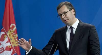 Вучич пожаловался Путину на провокации
