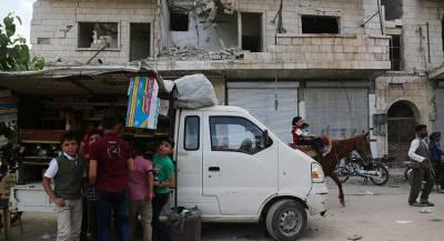 Вооружённые повстанцы завершили вывод техники из Идлиба