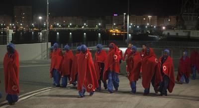 Попытка бегства иммигрантов произошла в Мадриде