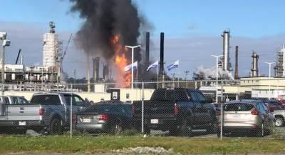 В Канаде произошёл взрыв на заводе по переработке нефти