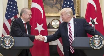 Трамп высказался за улучшение отношений США и Турции