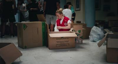 Красный Крест отправил гуманитарную помощь в Донбасс