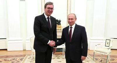 Сербия готовится к визиту Путина