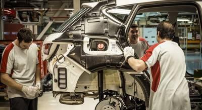 SEAT начал создание своей модели на заводе Volkswagen