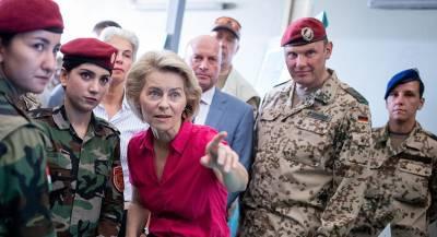 Минобороны Германии запретило военным и депутатам общаться
