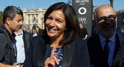Мэр Парижа предложила разместить бездомных в ратуше