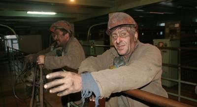 Горняки три недели отказываются покидать шахту на Украине