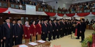 Pelantikan DPRD Surakarta