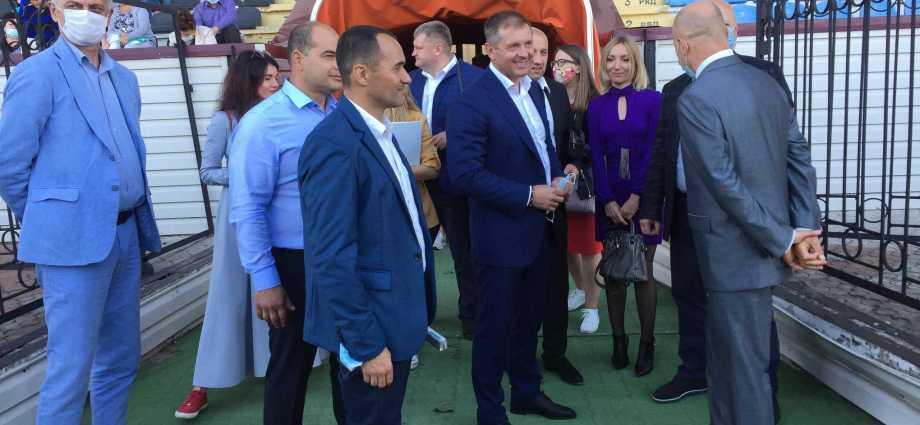 Нардеп Ігор Молоток завітав до міста Охтирка на Сумщині