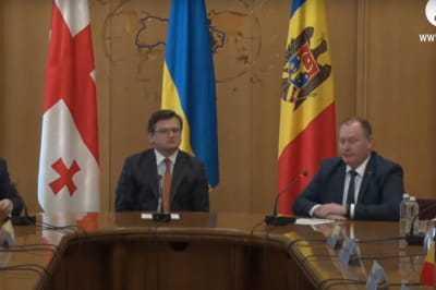 Україна, Молдова та Грузія підписали спільний меморандум: подробиці візиту голів МЗС у Київ