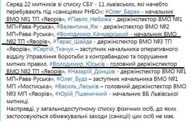Владимир Юськив из шайки «Вовы Морды» продолжает работать на таможне несмотря на санкции СНБО