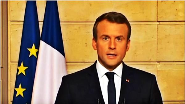 FRANCJA – WYBORY. Macron wygrywa pierwszą rundę wyborów prezydenckich