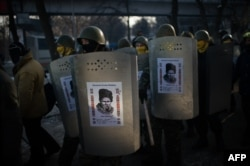 Революція гідності. Учасники Самооборони Майдану, Київ, 6 лютого 2014 року