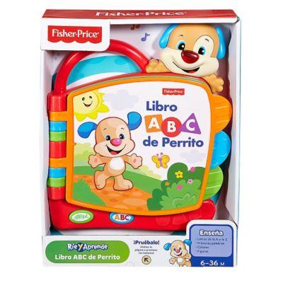 FISHER PRICE Ríe y Aprende Libro ABC de Perrito - Falabella.com