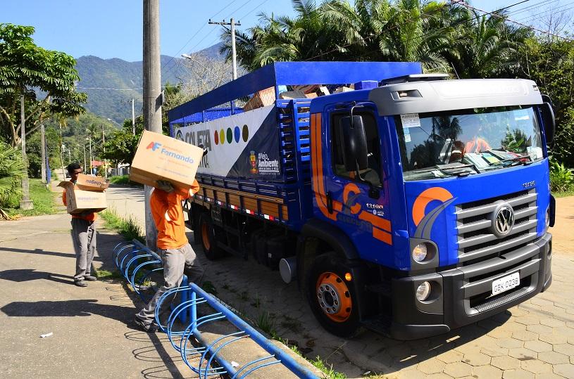 Prefeitura economiza R$ 90 mil mensais com implantação do projeto de Coleta Seletiva