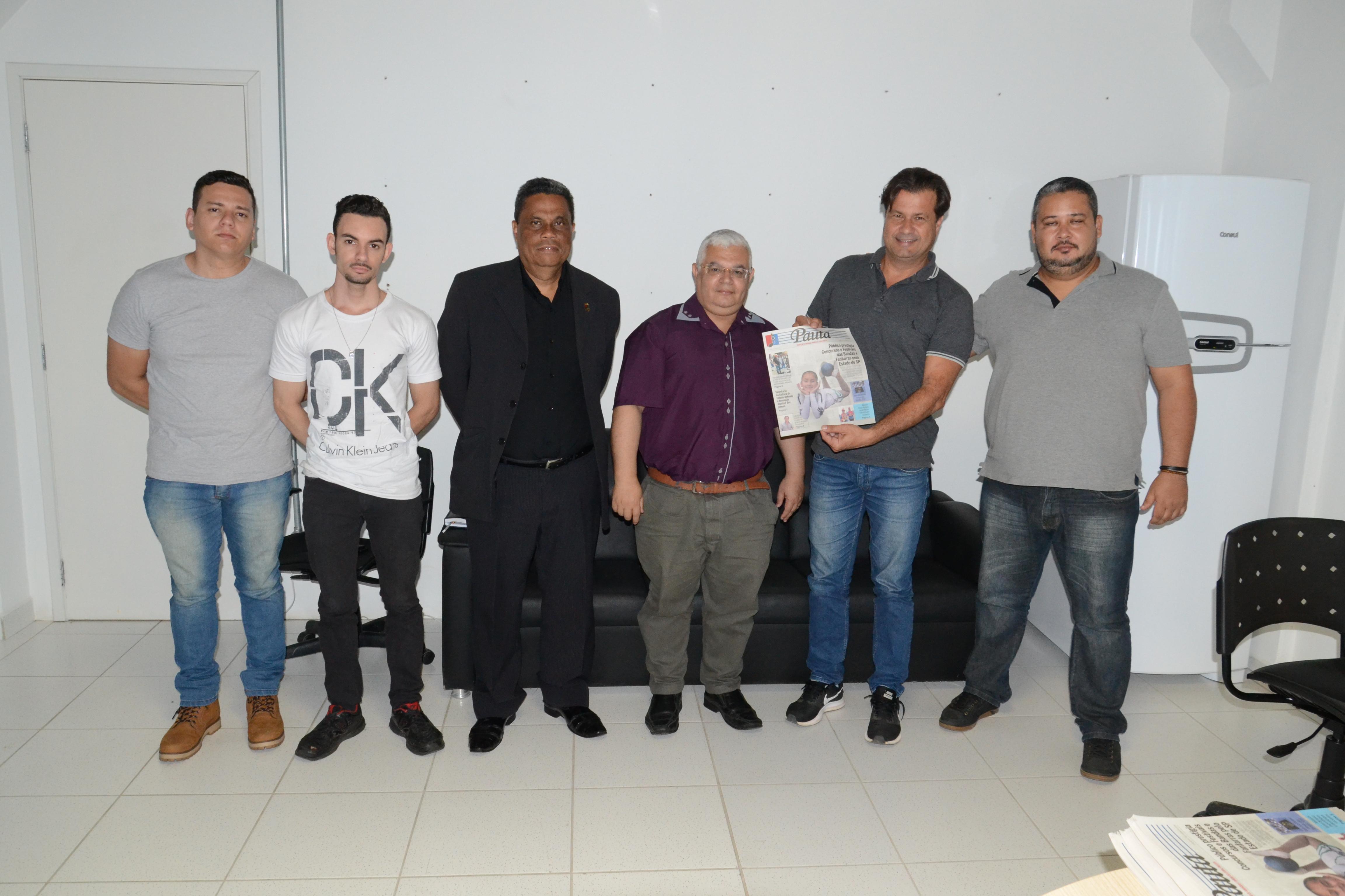 Câmara promove reunião com líderes da Associação de Fanfarras e Bandas do Litoral Paulista