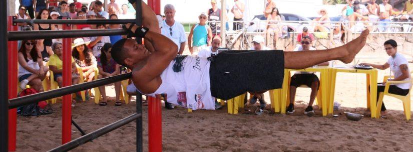 2º Caiçara Street Workout aguarda mais de 40 atletas de calistenia na Martim de Sá neste sábado (12)