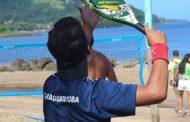 Equipe de Beach Tennis de Caraguatatuba conquista oito medalhas no Kailash Multisport Festival, em Ilhabela
