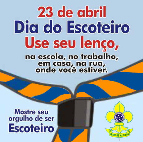 DIA DO ESCOTEIRO