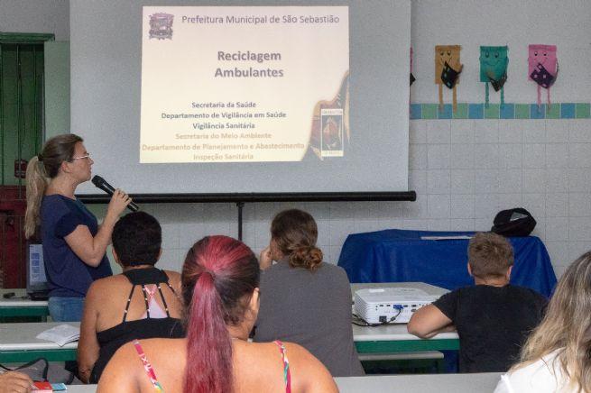 Prefeitura promove capacitação para ambulantes da Costa Sul