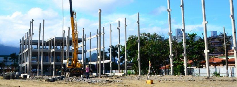 Estado continua construção de novo Fórum em Caraguatatuba