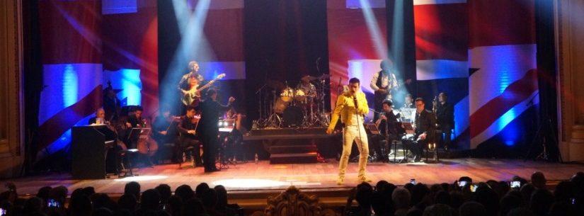 Teatro Mario Covas recebe espetáculo musical Queen – Experience in Concert no dia 30 de maio