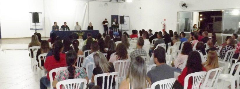 Mais de 100 pessoas recebem certificados de cursos do Senac