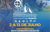 São Sebastião vai sediar 63ª edição Jogos Regionais em parceria com Ilhabela
