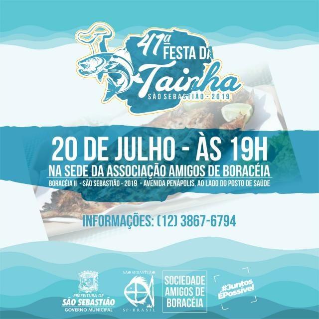 Prefeitura realiza 41ª Festa da Tainha em Boracéia
