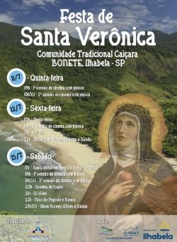 Festa de Santa Verônica começa nesta quinta-feira na comunidade do Bonete