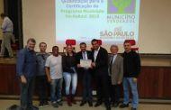 São Sebastião recebe certificado Município VerdeAzul