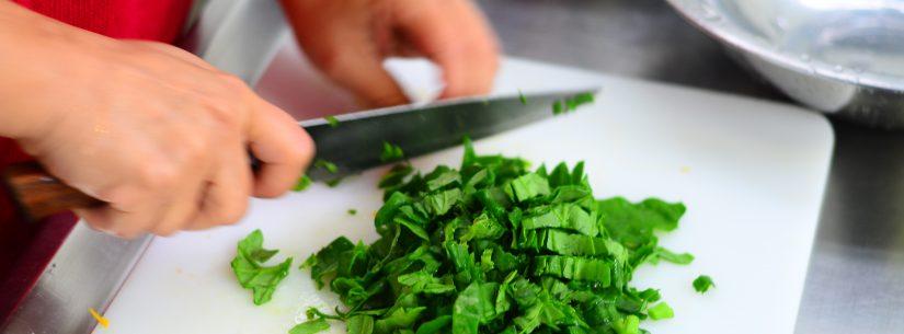 Estão abertas as inscrições para curso de Reaproveitamento Integral de Alimentos