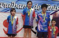 Atletas de Caraguatatuba conquistam 9 medalhas na Liga Valeparaibana de Tênis de Mesa