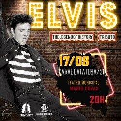 Teatro Mario Covas recebe espetáculo musical 'Elvis – The Legend of History'