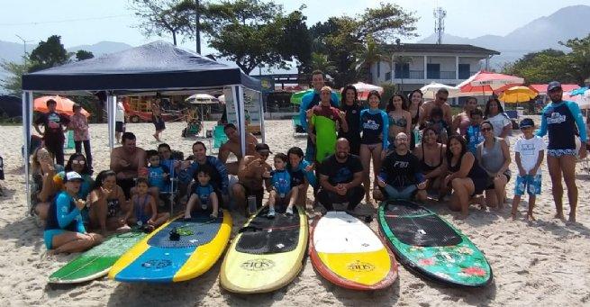 Projeto Onda Azul ganha bateria especial na 2ª etapa do Circuito Sebastianense de Surf