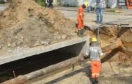 Desvios de trânsito são feitos no Poiares para obras de drenagem