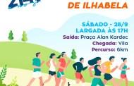 """Começam hoje as inscrições para a """"43ª Prova Pedestre Cidade de Ilhabela"""""""