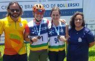 Duas atletas de Caraguatatuba são campeãs brasileiras em Circuito de Rollerski