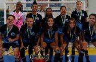 Futsal feminino conquista segundo lugar em competição em Ilhabela e se prepara para um novo desafio