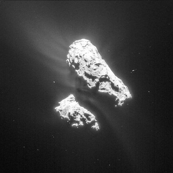 Credit: ESA/Rosetta/NAVCAM – CC BY-SA IGO 3.0