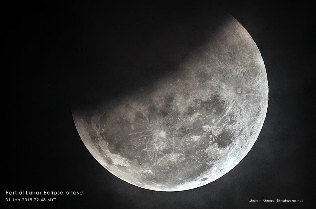 Jom saksikan Gerhana Bulan Separa – 17 Julai 2019