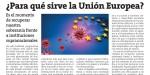 ¿Para qué sirve la Unión Europea?