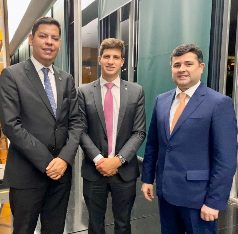 Alberes, João Campos e Eduardo da Fonte