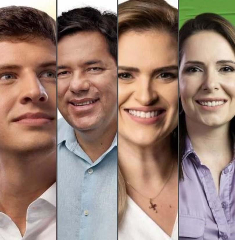 Pesquisa Ibope no Recife: João Campos, 31%; Marília Arraes, 18%; Delegada  Patrícia, 16%; Mendonça Filho, 13% - FalaPE
