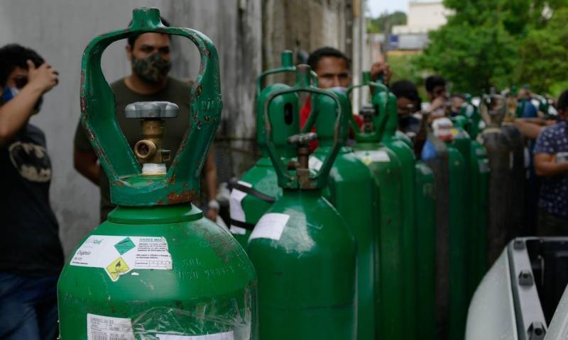 Covid-19: Alta ocupação de leitos clínicos alerta para risco de falta de oxigênio no Piauí
