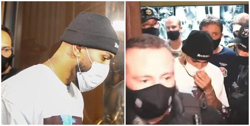 Polícia estoura cassino de luxo e encontra Gabigol embaixo de uma mesa; Veja o vídeo