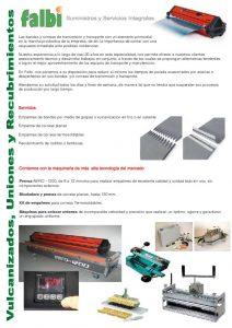 thumbnail of Lamina Servicio Tecnico Bandas y Correas_web