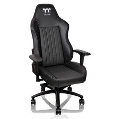 Gaming Chairs Pc World Barbershop Wholesale Thermaltake Tt E Sports Xc500 Black Chair