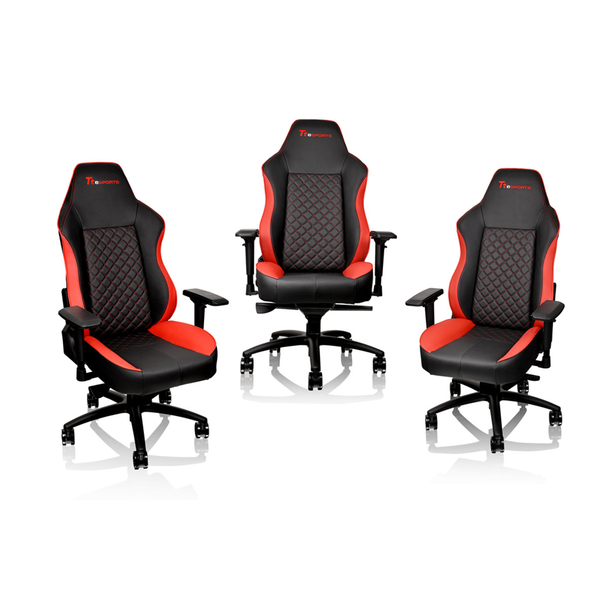 red gaming chair folding floor india thermaltake tt e sports gtc500 black